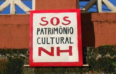 Campanha SOS Patrimônio Cultural NH
