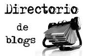 Este blog está inscrito en el Directorio de blogs literarios
