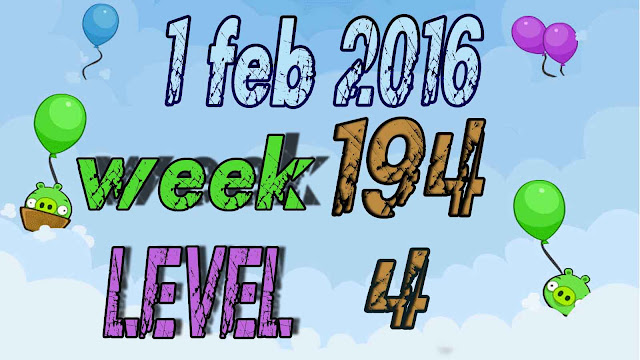 Angry Birds Friends Tournament level 4 Week 194