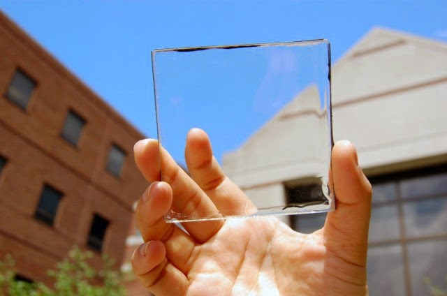 Transparent solar cell-Turns Window & Screen a Power Source,window power,window solar,screen solar cell