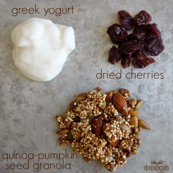 Yogurt, Fruit, & Granola {Two Recipes, Two Ways} from Blissful Roots