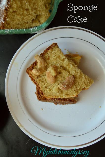 vanilla sponge cake3