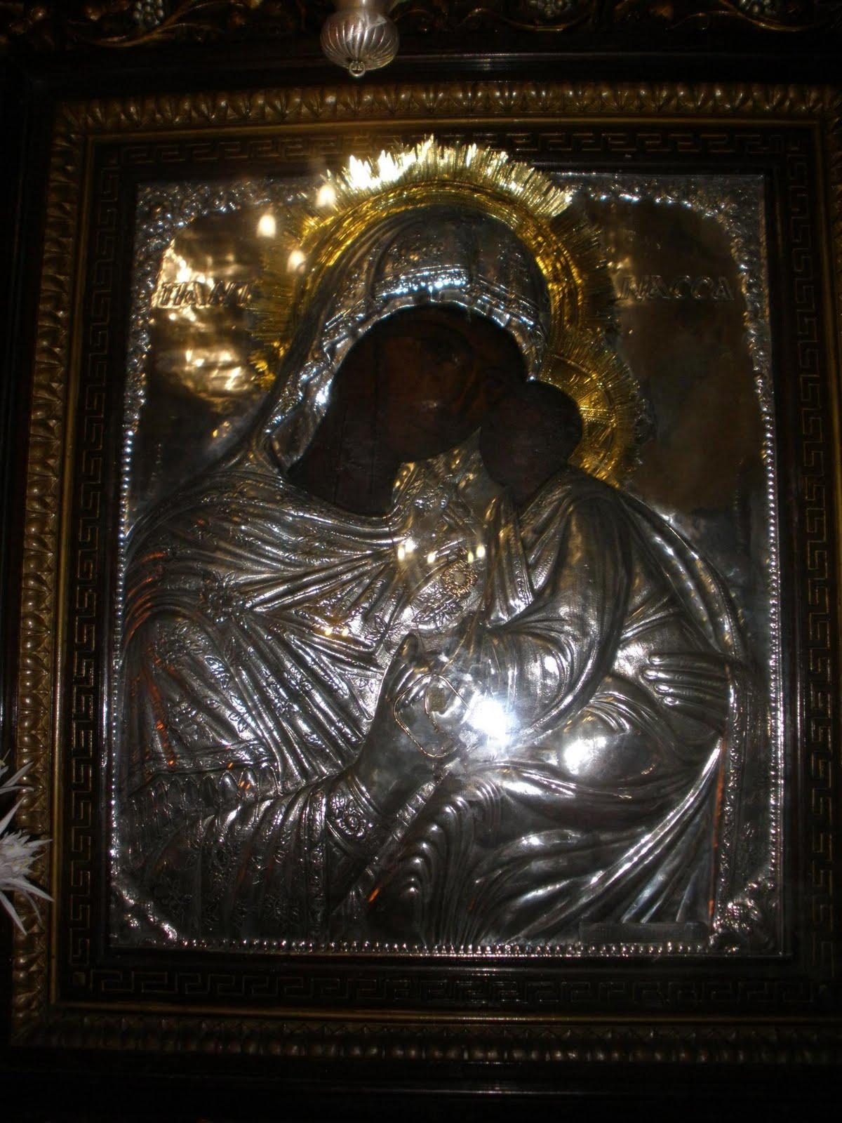 Αποτέλεσμα εικόνας για παναγία παντάνασσα στη σίκινο φωτο