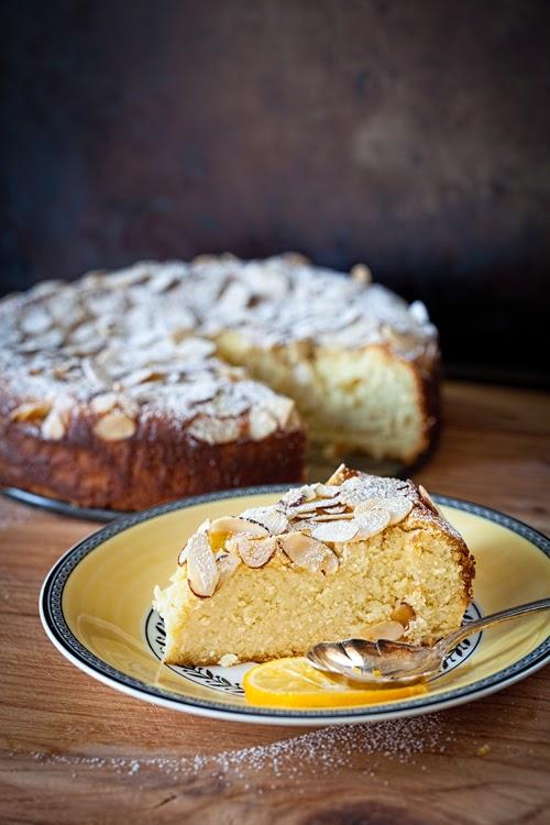Ricotta Cake With Meyer Lemon Curd Recipe — Dishmaps