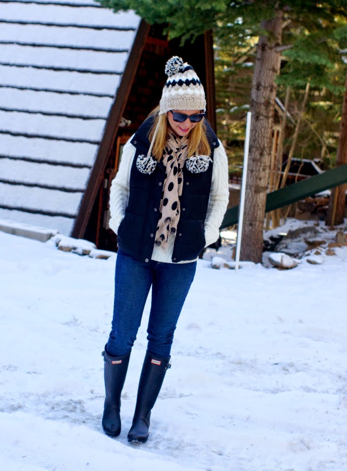 outfit idea for a ski trip