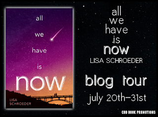 http://www.cbbbookpromotions.com/tour-sign-up-all-we-have-is-now-by-lisa-schroeder-july-20-31/