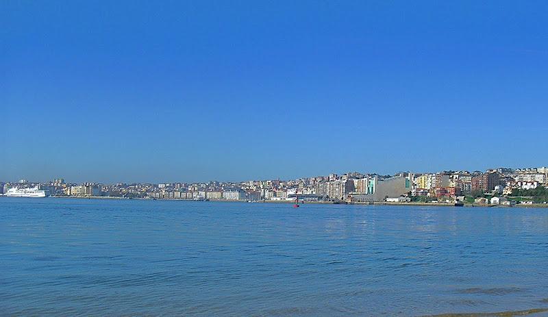 Santander desde El Puntal