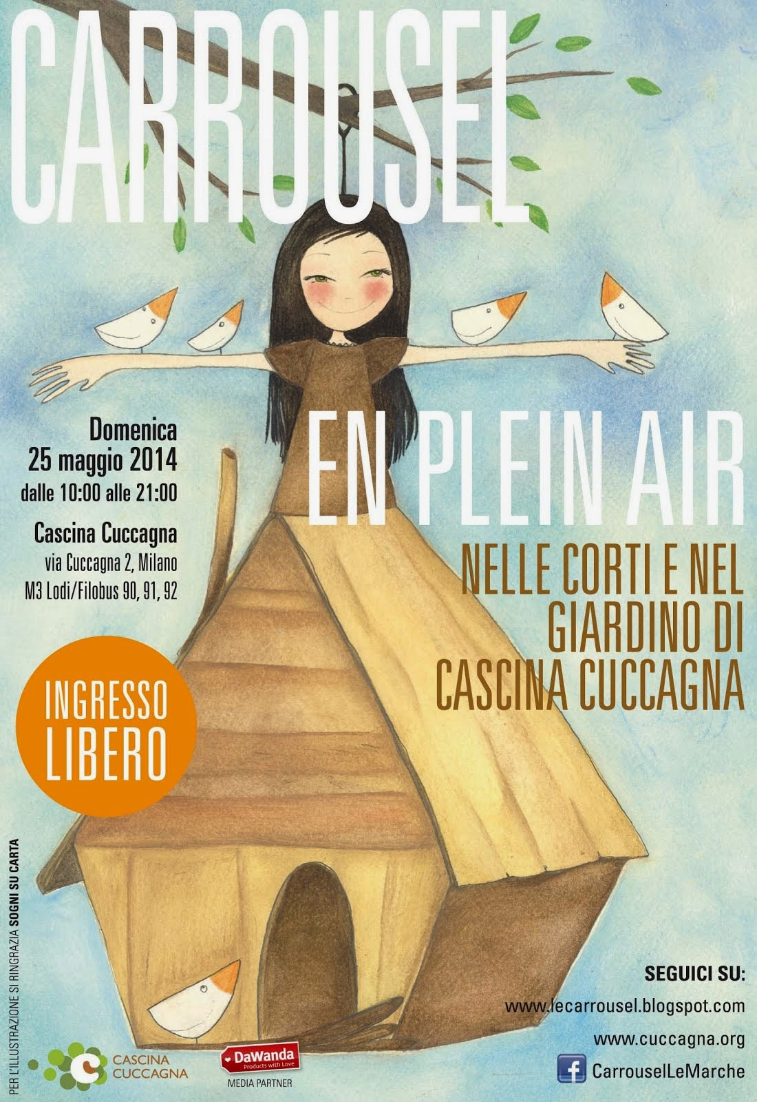 Carrousel en plain air l Cascina Cuccagna