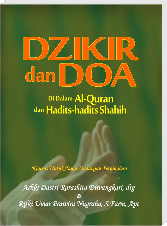 Buku Dzikir dan Doa untuk Souvenir