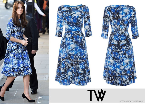 Kate Middleton selected the Tabitha Webb Meg - Space print dress
