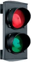 Светофор с двумя сигналами