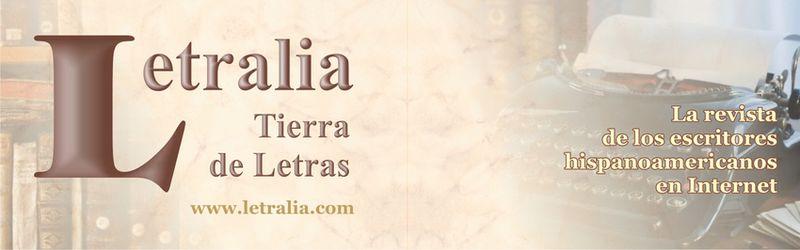 """Este blog se encuentra  en """"LETRALIA, Tierra de Letras"""". Click aquí:"""