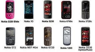 Daftar Harga Pasaran Ponsel Nokia Tahun 2012