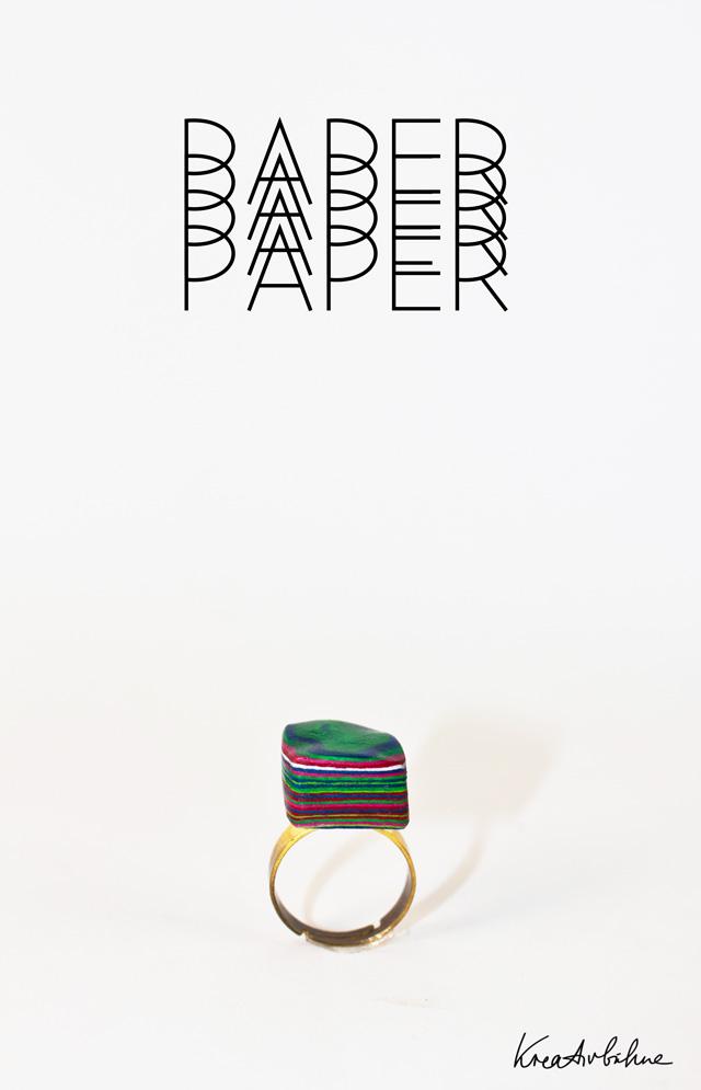 DIY Ring selber machen Papier