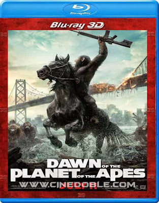 El Planeta de los Simios: Confrontacion (2014) 3D SBS 1080p Latino