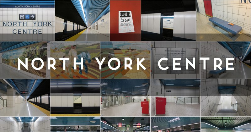 North York Centre station photo gallery
