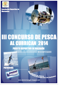III concurso Pesca al Curricán 2014