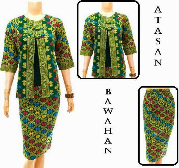 Dress Batik Motif Prada Bali
