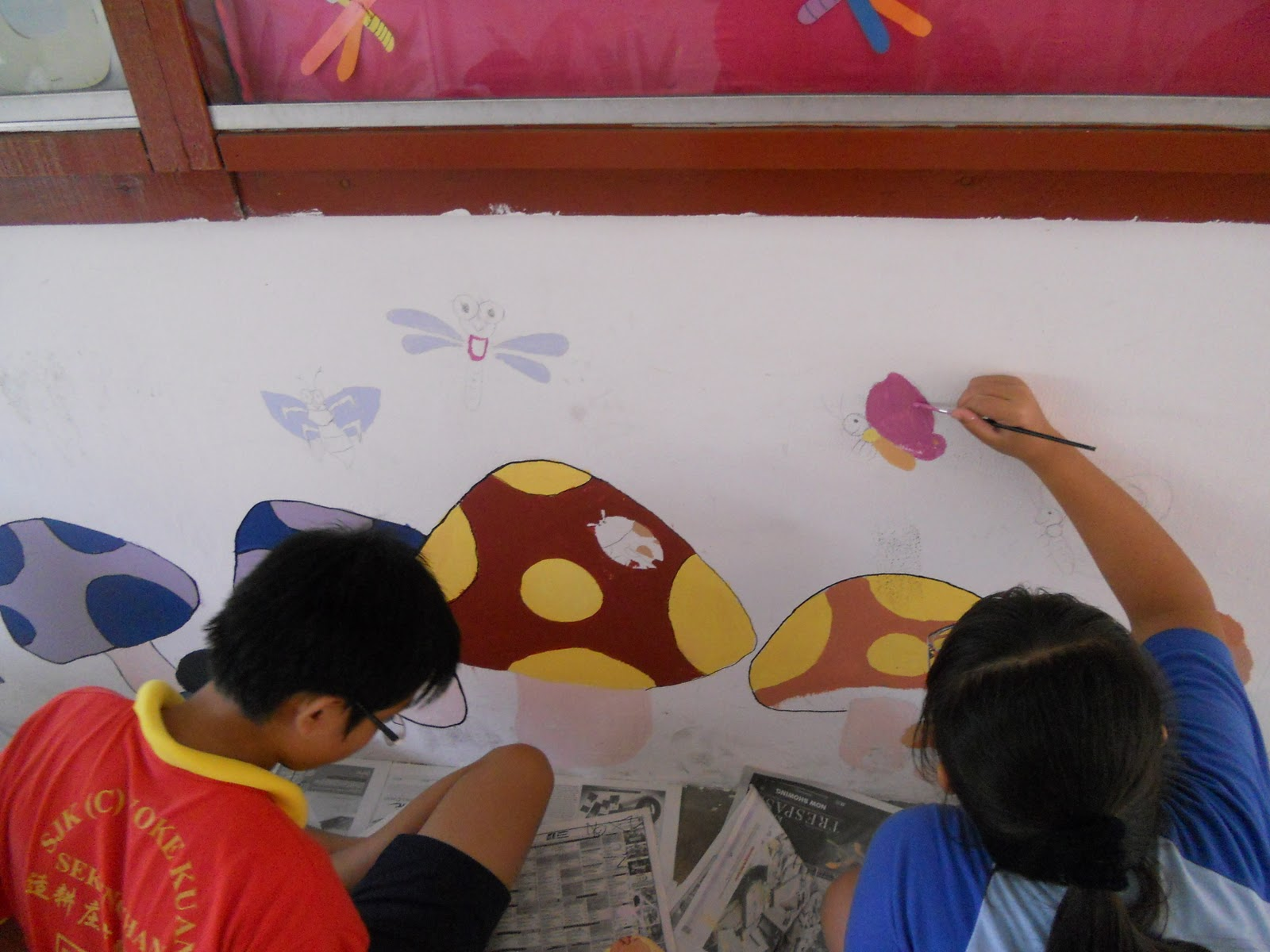 Become a better you with art mural hasil kerja tahun 6 for Mural yang cantik