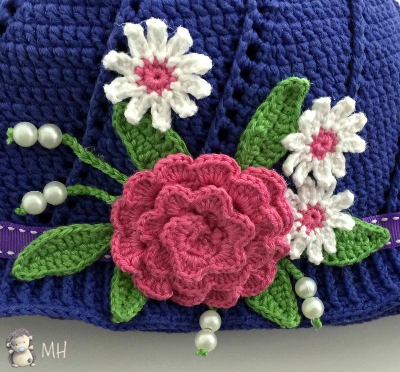 Flores Crochet. Fantstica Manta Tejida Crochet Con Patrones. Flores ...