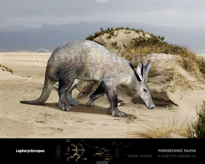 Tubulidantata extinta Leptorycteropus