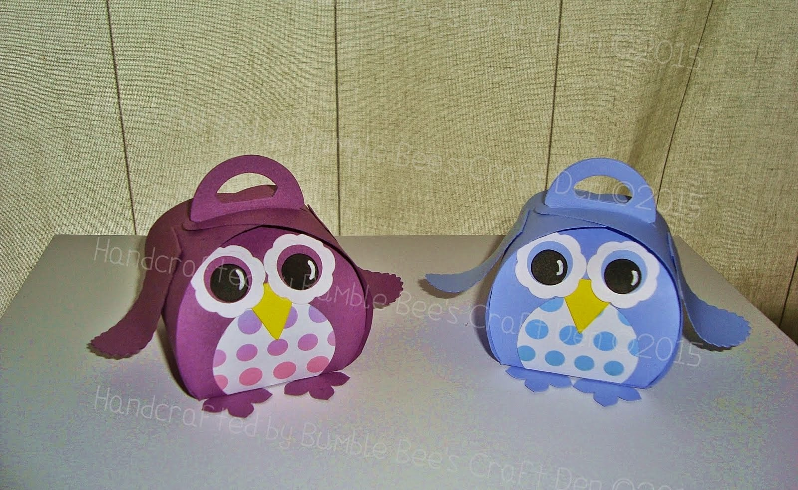 Owl Treat Boxes Tutorial
