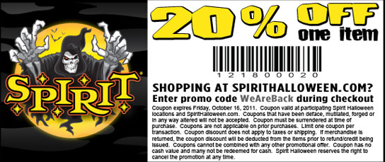 httpspirithalloween coupon code2014blogspotcom