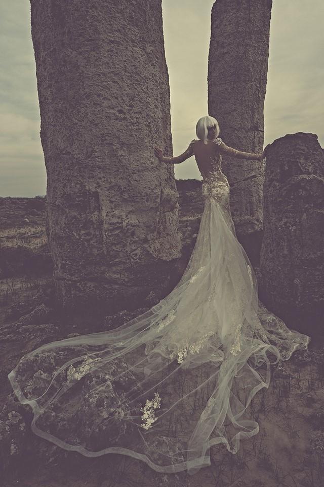 Vestidos de novias divinos| Colección Julia Kontofuni