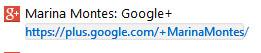 como poner url personalizada en google plus