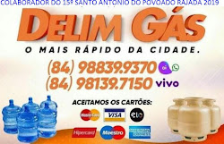 PUBLICIDADE: DELIM GÁS CARNAÚBA DOS DANTAS/RN