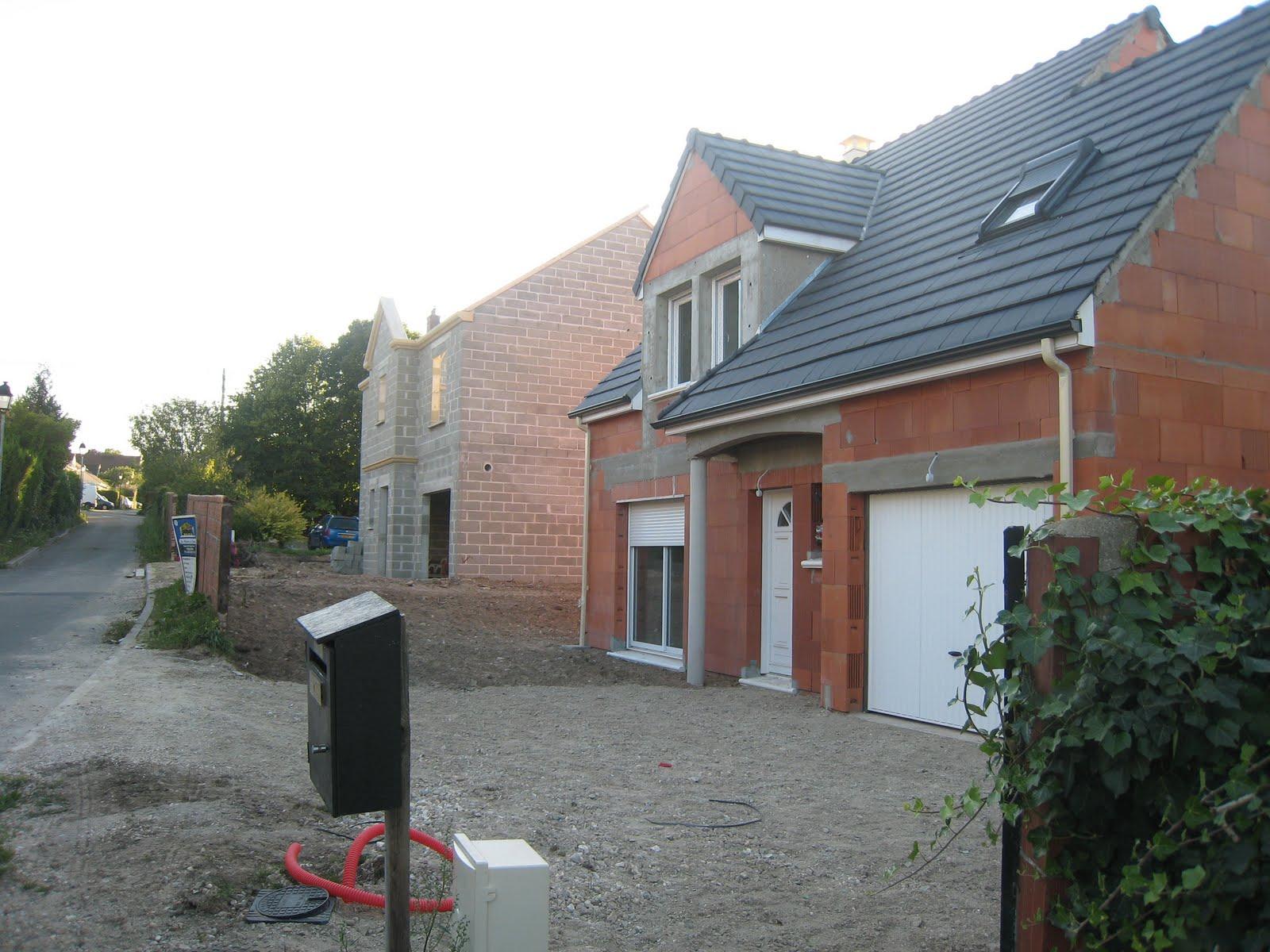 Faire construire r galage des terres autour de la maison for Autour de maison