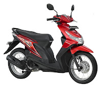 honda beat SW Electro Red