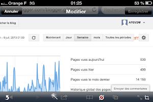 500 pages vues par jour en moyenne