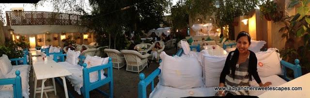 Arabian Tea House panoramic view