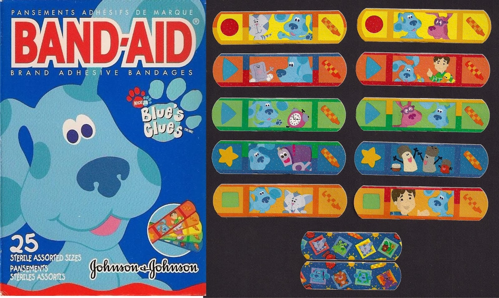 Band Aid Collection Blue S Clues