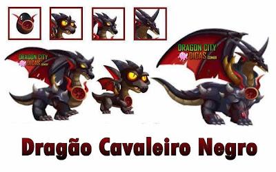 Dragão Cavaleiro Negro - Informações