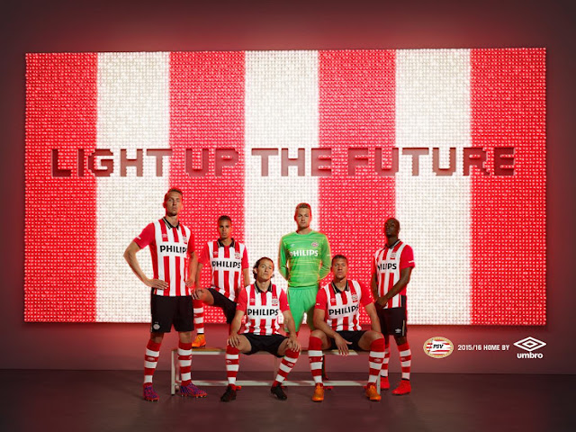 Launching Jersey PSV Home 2015/2016