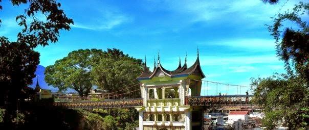 Tempat Wisata Jembatan Limpapeh Bukittinggi