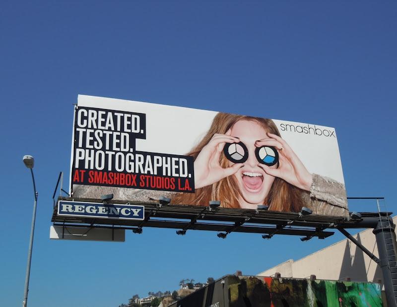 Smashbox billboard