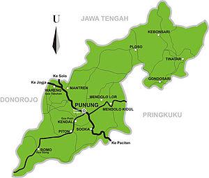 Profil Kecamatan Punung Kabupaten Pacitan Provinsi Jawa Timur