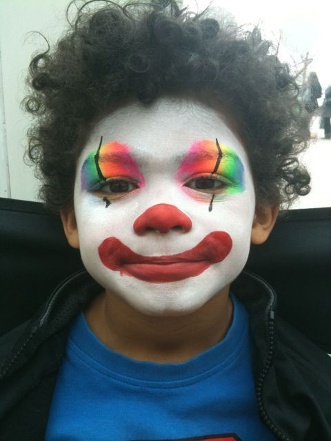 easy face paint for toddler boys