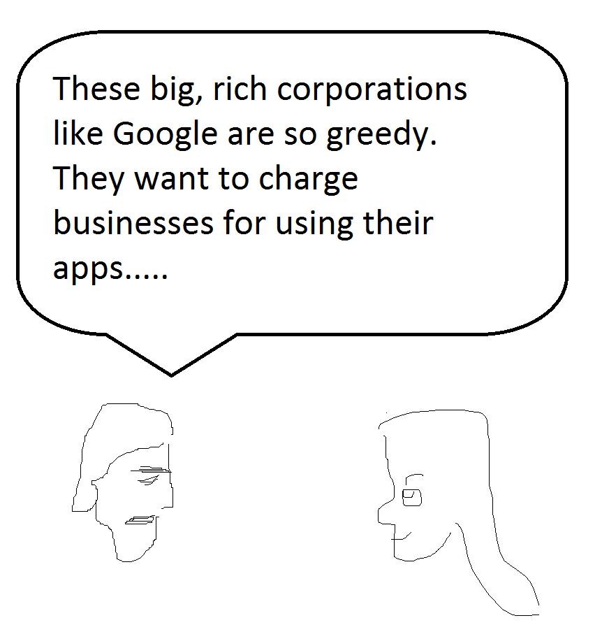 google apps, google apps cost, social media