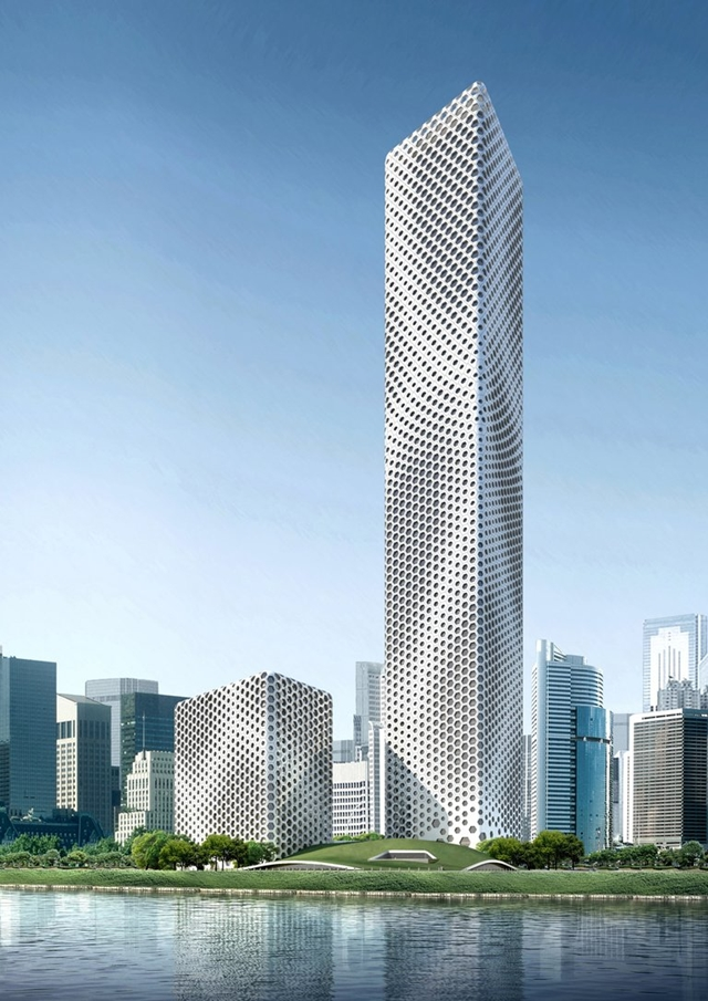 architectural drawings of skyscrapers. Wonderful Skyscrapers New Chinese Skyscrapers Sinosteel International Plaza Tianjin China Inside Architectural Drawings Of Skyscrapers