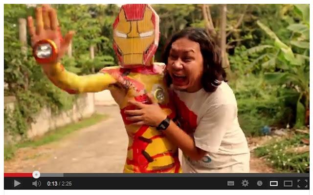 Iron Man 3 Parodi Versi Thailand