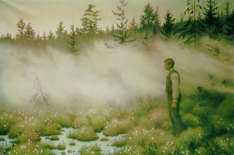 Huldra Forsvant (Theodor Kittelsen)