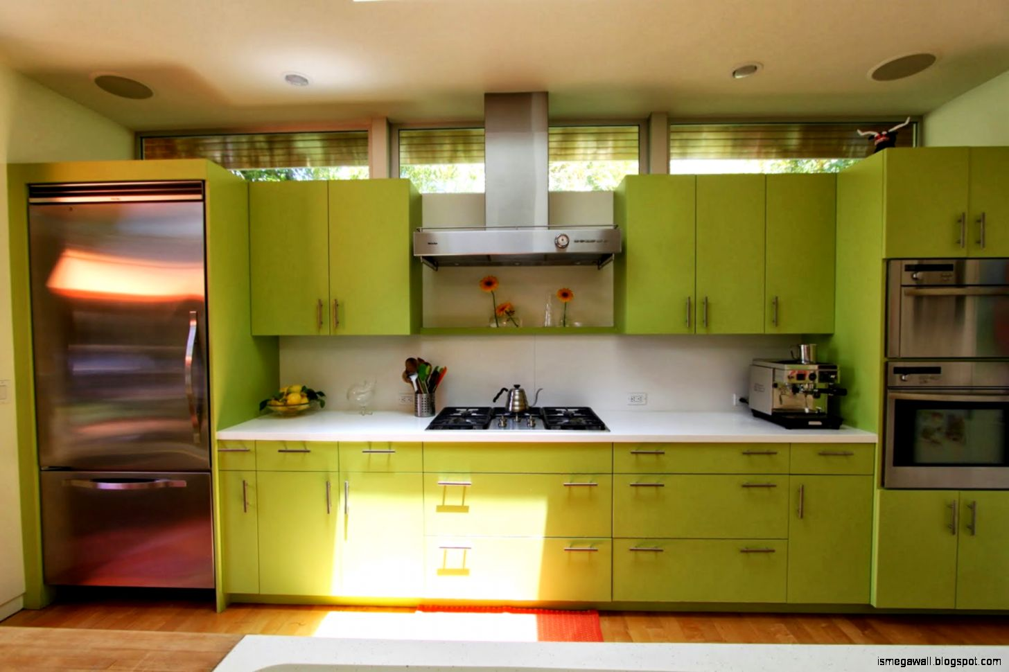Olive Kitchen Cabinets India