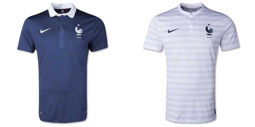 Prancis - Jersey Grade Ori Piala Dunia 2014