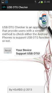 USB OTG Checker - Aplikasi Android