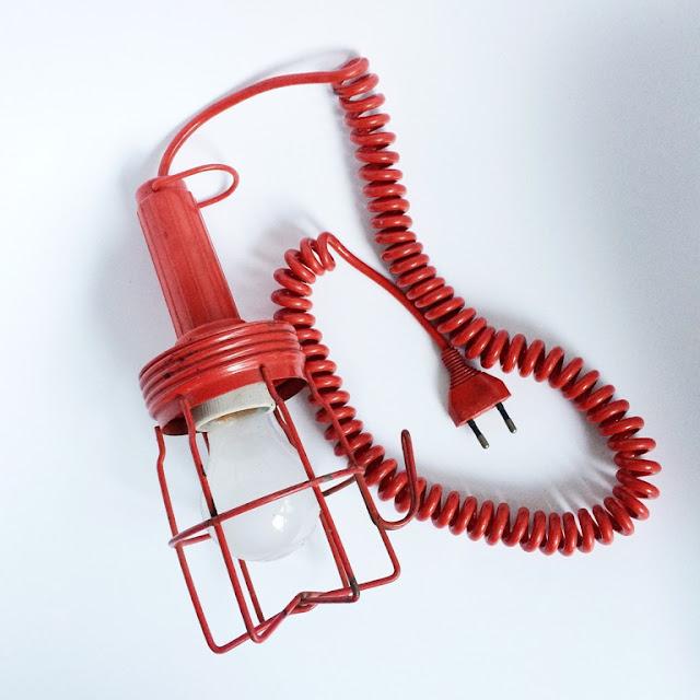 Mittwochs mag ich, Mmi, Flohmartk, Flohmartkfund, Lampe, Vintage, Retro, Interior Design, Grubenlampe
