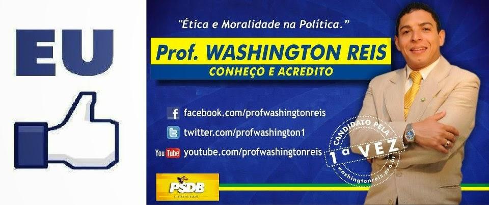 Prof. Washington Reis - Conheço e Acredito!